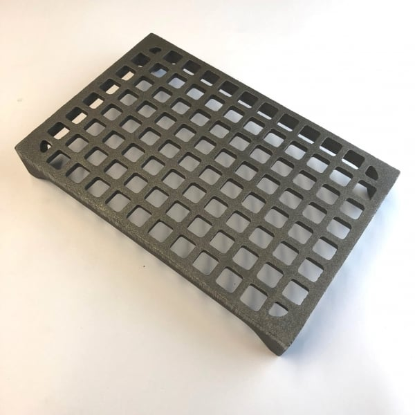 MAX6 - MAX FLOW 9x6 cast iron air brick with 18000mm2 free area in bare metal