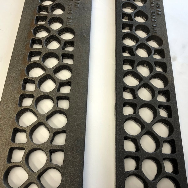 3 and 4 inch daisy gratings available in 30 and 36 inch lengths