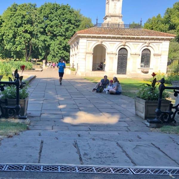 hyde park italian gardens q