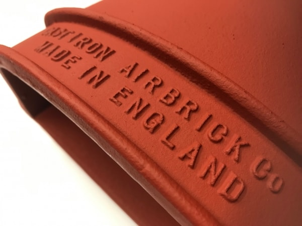 Cast iron air brick company - made in England