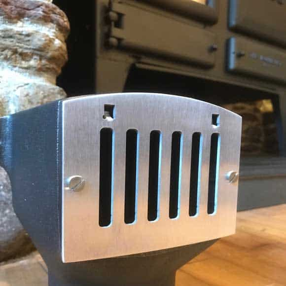 stove and fire vent