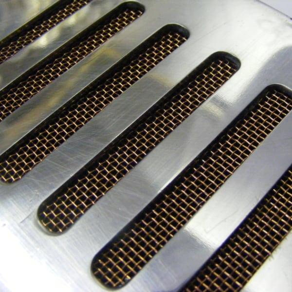 Cellar Aluminium Vent Grille with Mesh