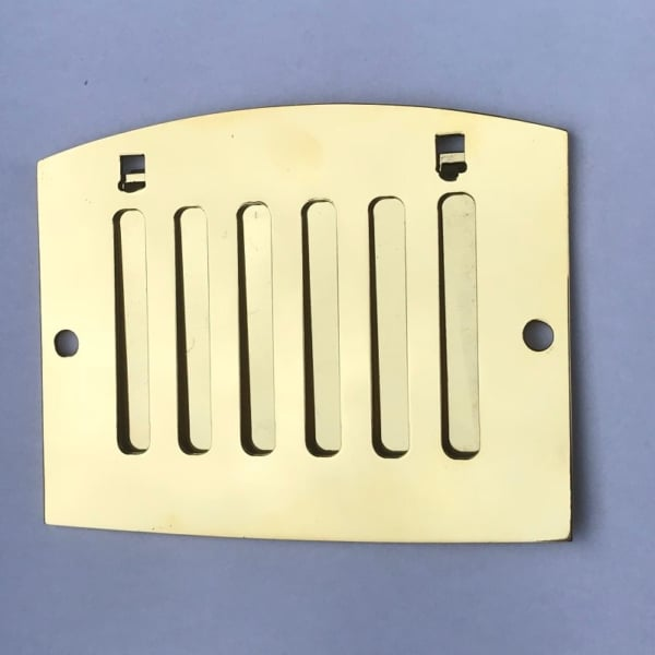 Sewar Brass Vent Grille with Flap