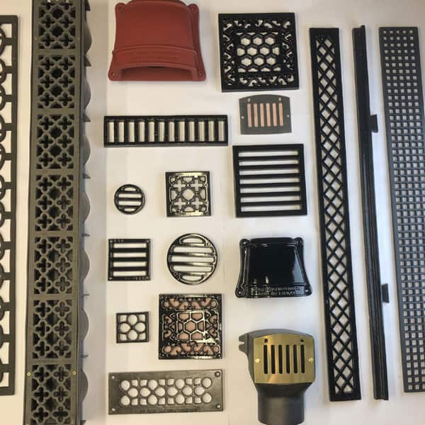 Vent and Drainage Grilles