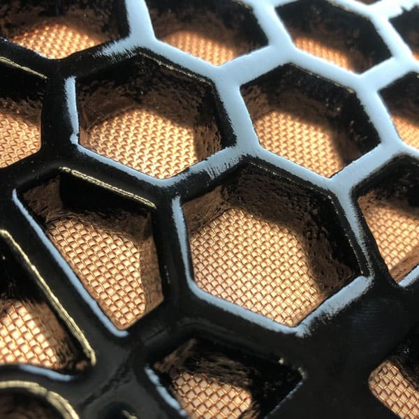 Copper flymesh available as an option for Cast Iron Heritage Vent Grilles