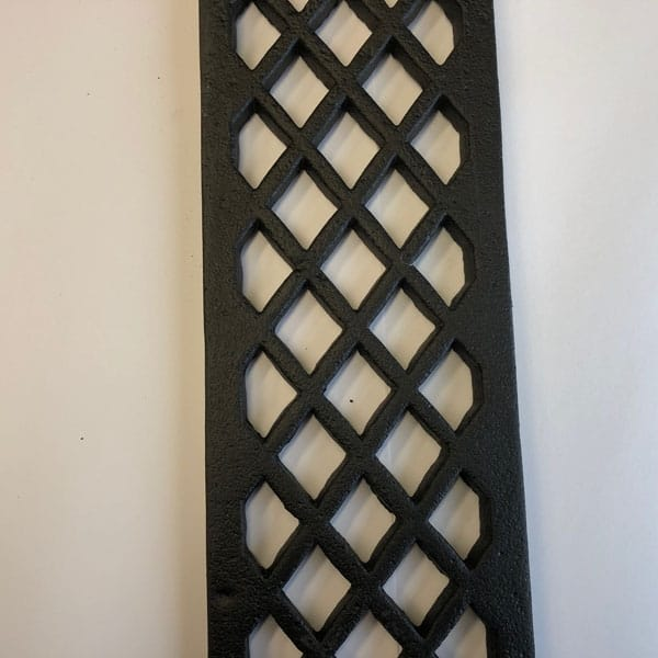 LAT363 Cast Iron Doorstep Lattice Gratings 4 inch wide and 36 inch lengths