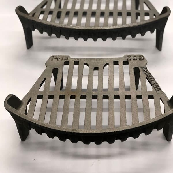 Cast Iron Fire Grate14 to 18 inch - British Made Fire Stool