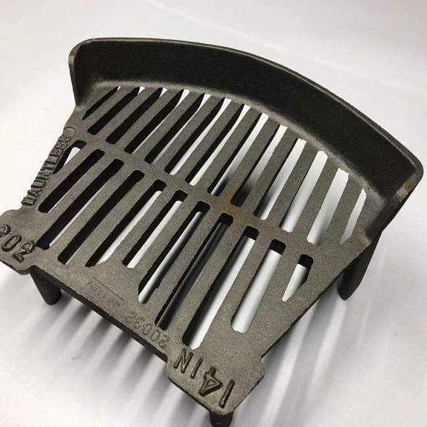 Cast Iron Fire Grate 14 inch - British Made Fire Stool