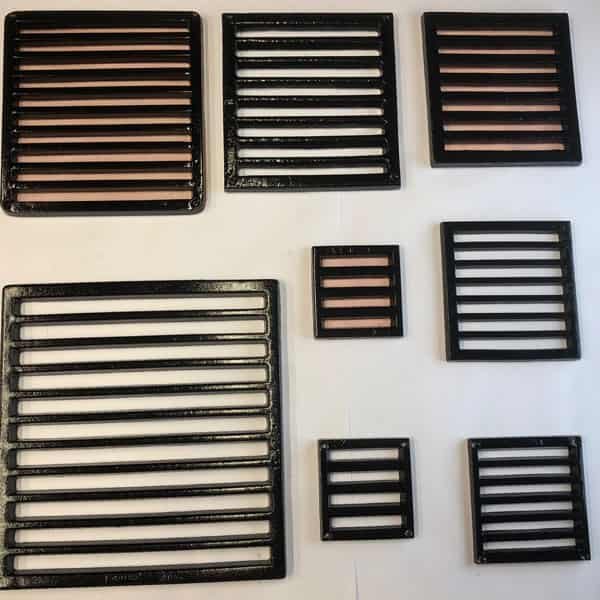 slotted grille range 4 to 12