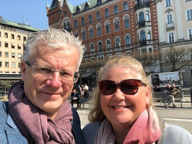 Stockholm in April